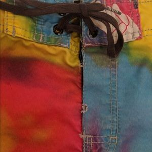 Billabong Swim - Tie Dye Billanbong Swimming Board Shorts
